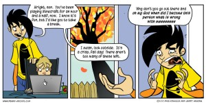Thank you Penny Arcade for making this point so clear.