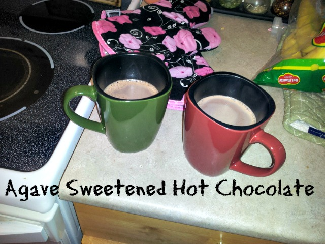 Agave Sweetened Chocolate Cake Recipe