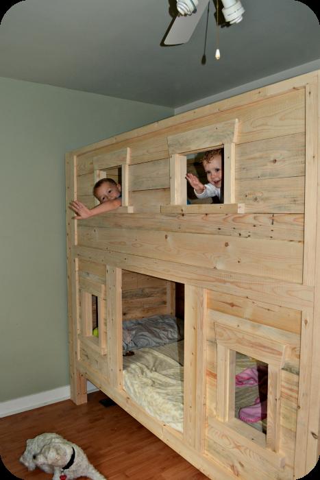 Building Bunk Bed Ideas